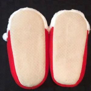 Target Shoes - Santa Slippers, Plush